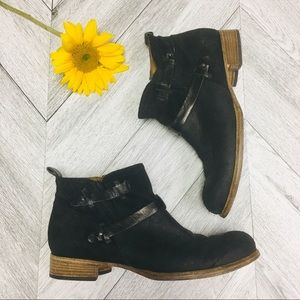 Alberto Fermani | Donna Suede Leather Ankle Boots